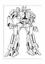 Malebog. Tegninger Transformers12