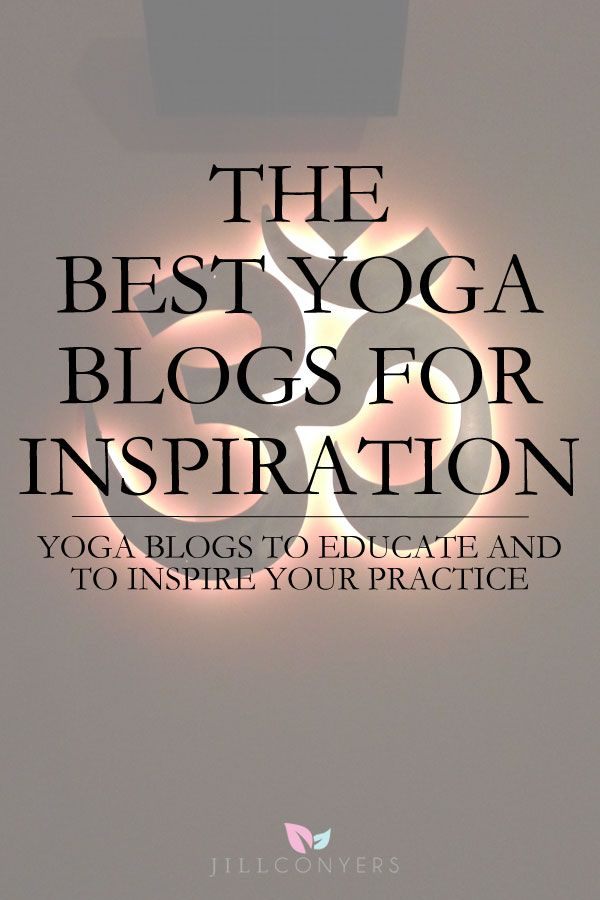 Blogs that have inspire, educate and help guide a yoga journey to living yoga beyond the mat. Articles, videos, inspiration and advice on everything yogi.