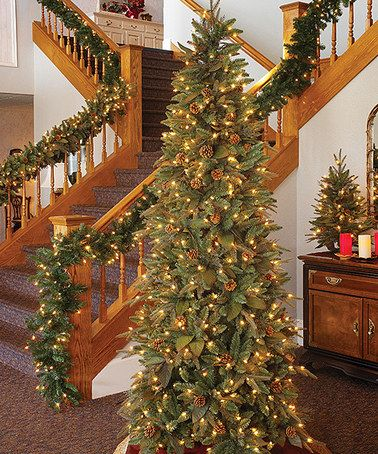 Another great find on #zulily! 7.5' Green River Spruce Prelit Artificial Tree #zulilyfinds