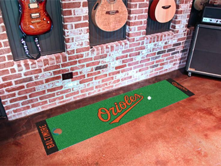 Baltimore Orioles 18in x 72in Putting Green Runner
