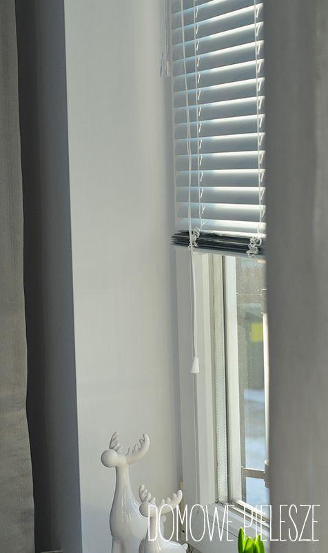 Żaluzje aluminiowe - białe matowe.
