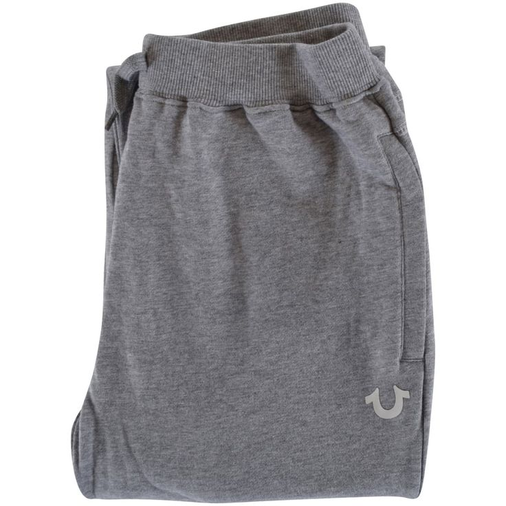 TRUE RELIGION JUNIOR True Religion Junior Grey Crafted with Pride Cuffed Joggers - Tracksuits from Brother2Brother UK