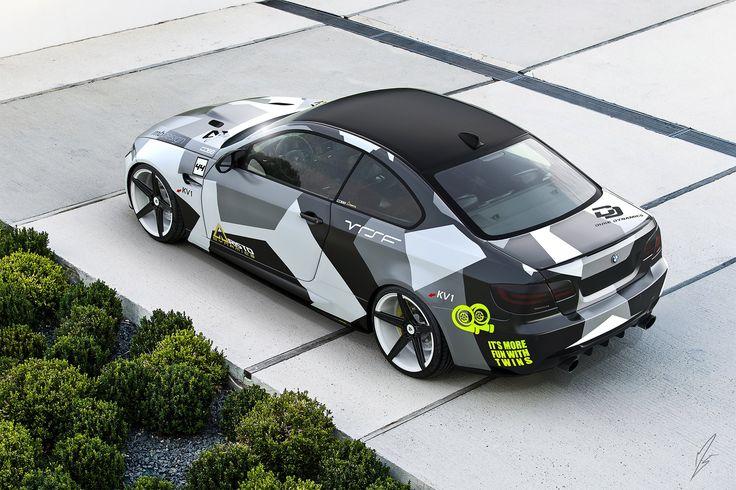 Modern Camo BMW 335i Coupe