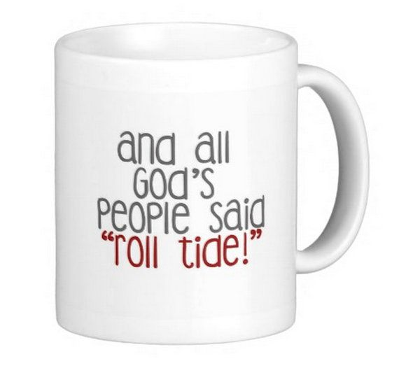 University of Alabama Roll Crimson Tide Gift by SincerelyEunice