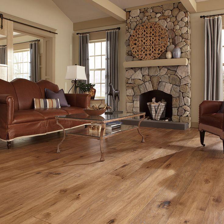 Maison Collection, Provence Hickory in Champagne - Elegant Hardwood Floors  - Mannington Flooring - 35 Best Images About Mannington Living Rooms On Pinterest Colour