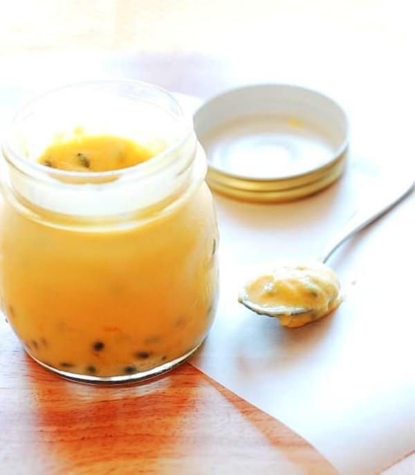 Passionfruit Curd (Souvlaki For The Soul)