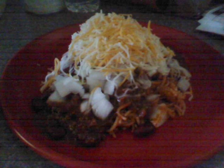 Skyline Chili- this round was from leftovers. spaghetti, chili, onions($1.79), and cheese was from chili night. total cost- $1.79: Fun Recipes, Onions 1 79, Chilis, Skyline Chili, Cheese, Round