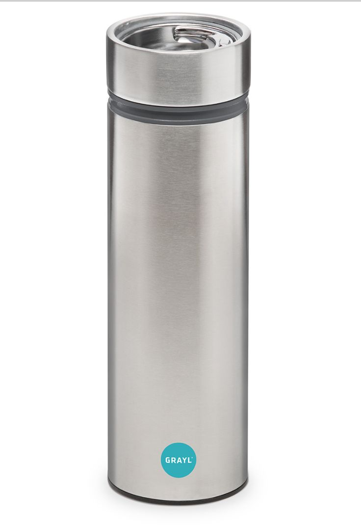 Grayl Water Purifier. Want this.