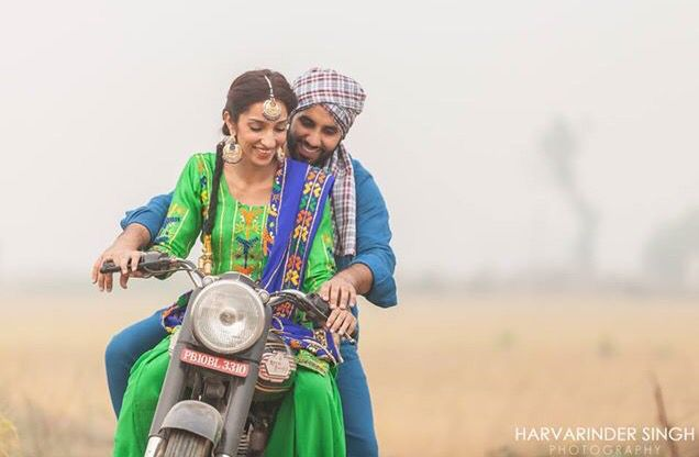 Harvarinder Singh Photography Punjabi Pre Wedding #pindshoot