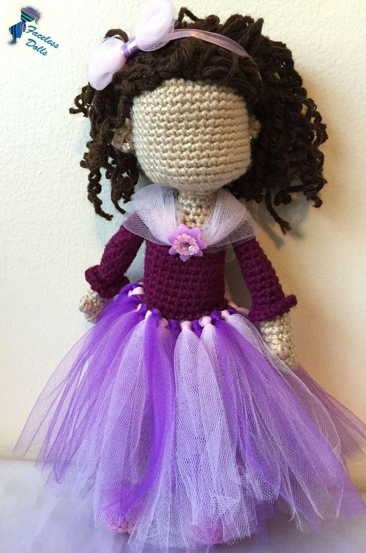 Amigurumi Doll Skirt : 1000+ images about Faceless Islamic Amigurumi Crochet Doll ...