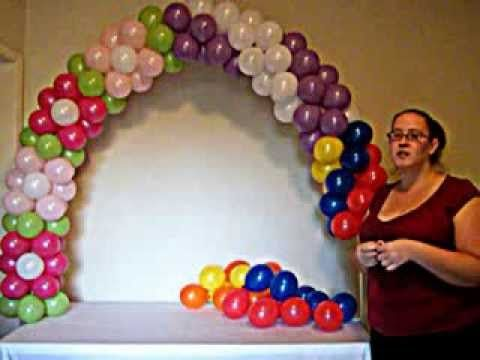 ▶ How to Make a Balloon Arch - YouTube