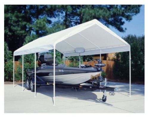carport canopy garage awnings and canopies rv truck party 12 x 20 complete kit