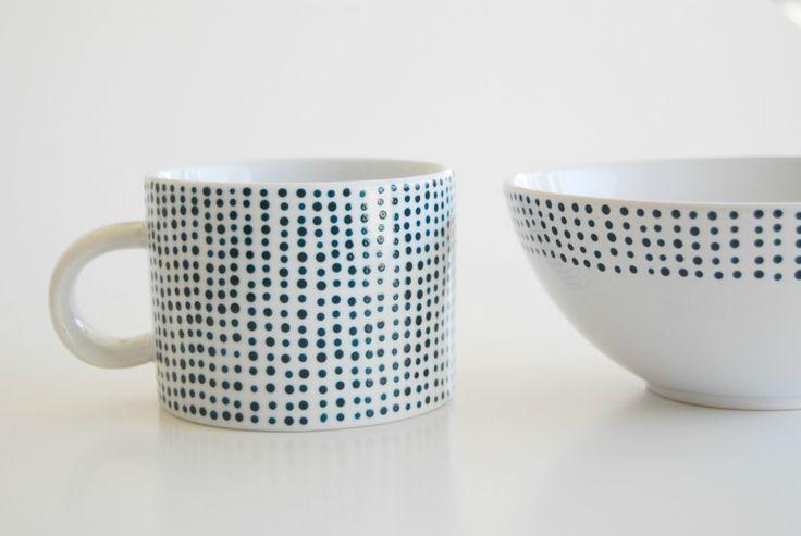 DIY: Spotted Navy Porcelain | Fox News Magazine