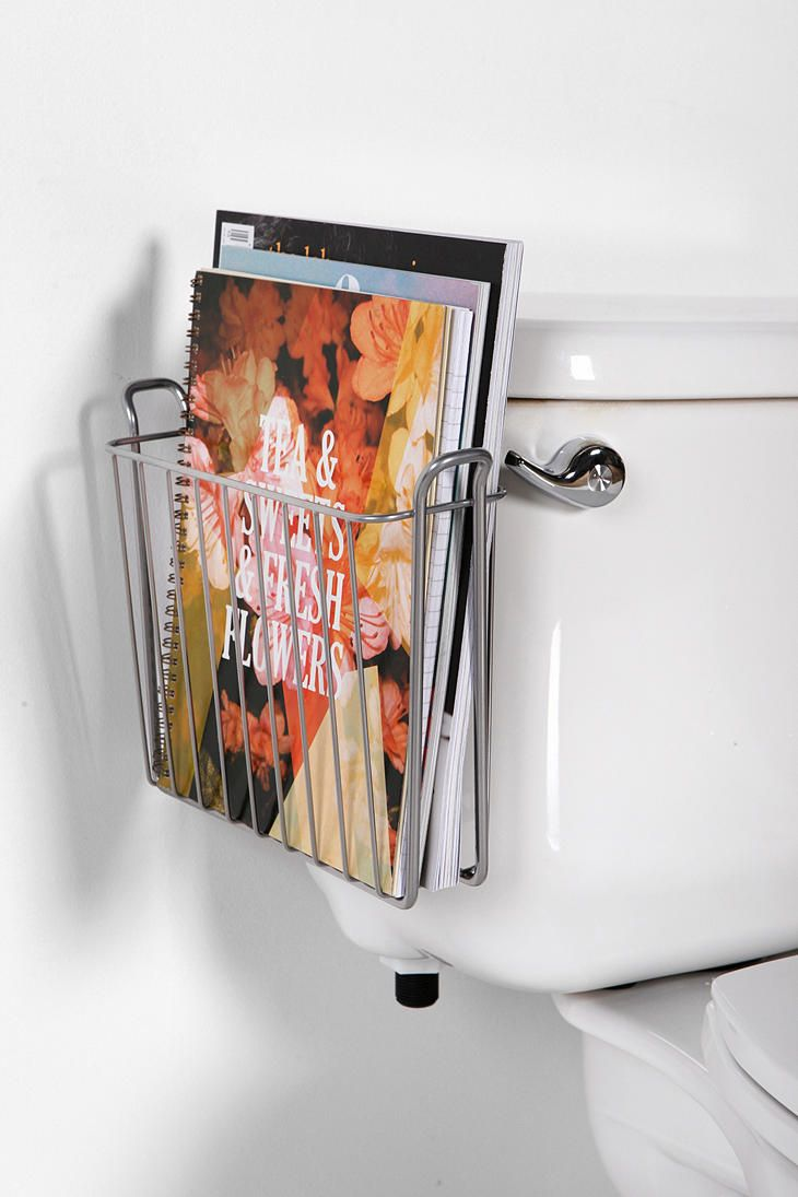 Hanging Magazine Storage Rack:
