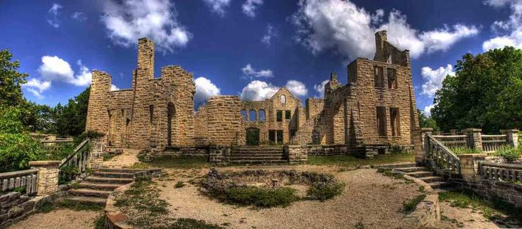 Ha Ha Tonka Castle, Lake of the Ozarks, Missouri