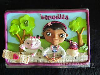 Doces Opções: A Doutora Brinquedos no aniversário da Benedita