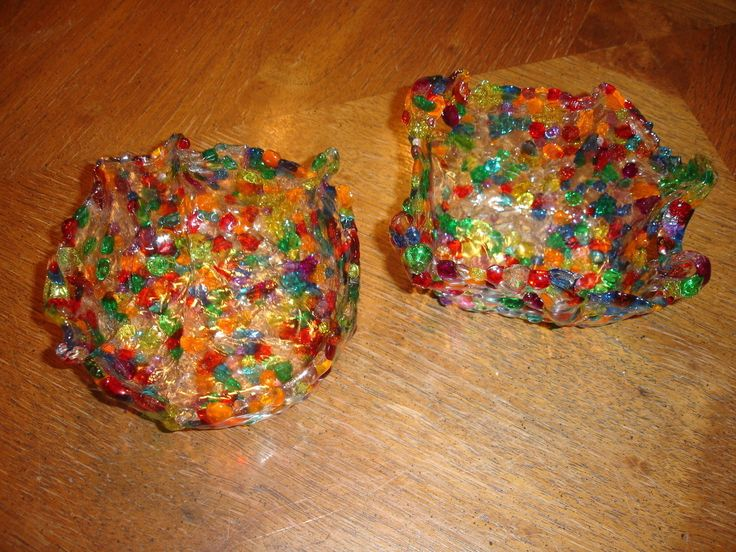 Melted Bead Bowl  •  Free tutorial with pictures on how to melt a bead bowl in under 45 minutes