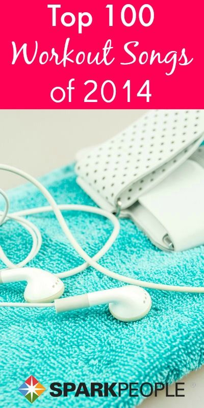 The results are in--these are the BEST #workout songs of 2014! | via @SparkPeople #fitness #exercise #playlist