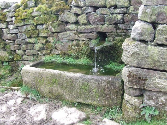 Stone water trough