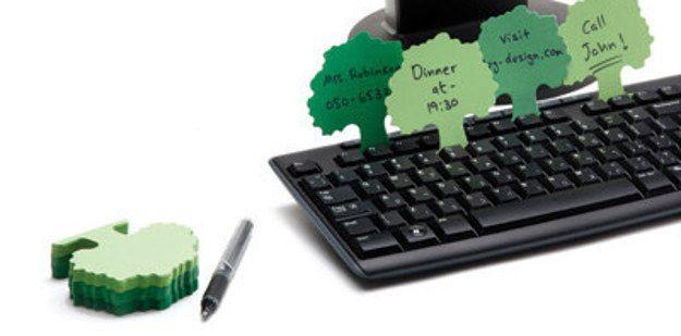 Notas de árboles para el teclado | 33 Accesorios de escritorio que mejorarán tu día