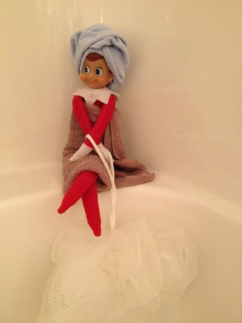 Elf on the shelf ideas! #Christmas #Elf #Magical