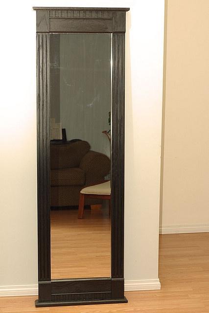 I really want a full length mirror i haven 39 t ever had one for Full length mirror with mirror frame
