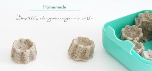 Dernière trouvaille homemade pour être certaine de maîtriser la conservation au mieux sans gaspillage ; un gommage au café anti-cellulite en dosette.