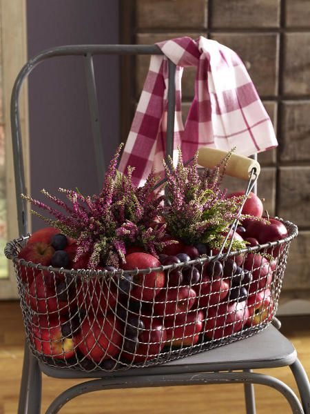 A tisket a tasket, wondering what to do with an old wire basket?...