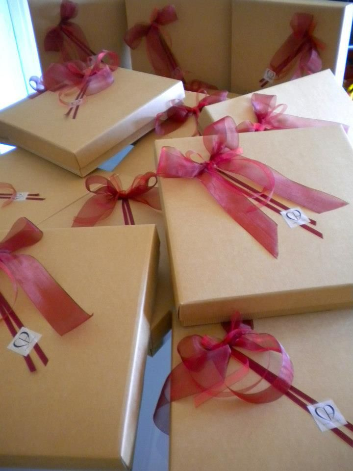 Example Gift Boxes