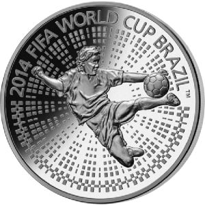 Belarus 2013 100 rubles The 2014 FIFA World Cup.
