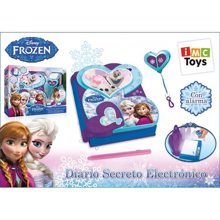 Juguete FROZEN DIARIO SECRETO ELECTRONICO Precio 31,10€ en IguMagazine #juguetesbaratos