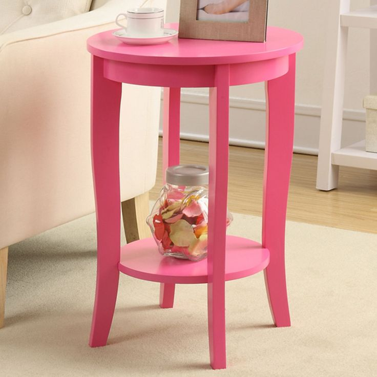 American Heritage Round End Table