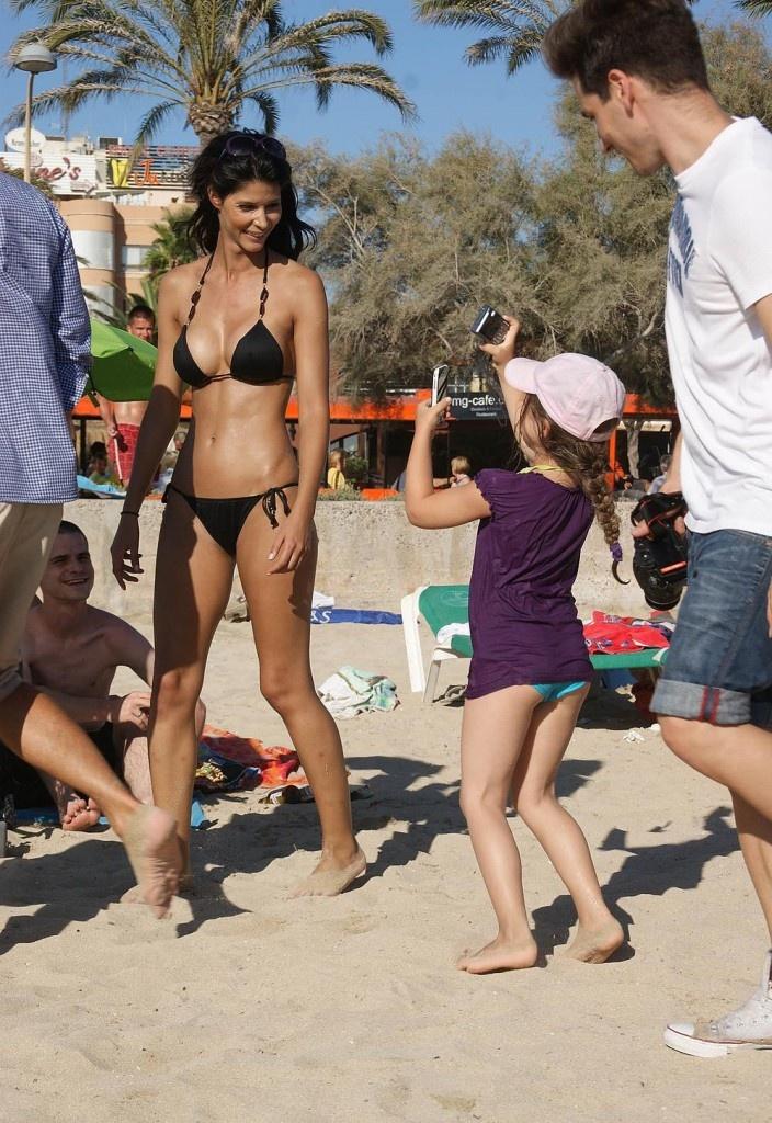 Micaela Schaefer Bikini Bikini Swimsuit One Two Piece