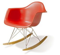 Charles and Ray Eames, Eames Rocker. My favorite designers!! #rocker #chair #eames