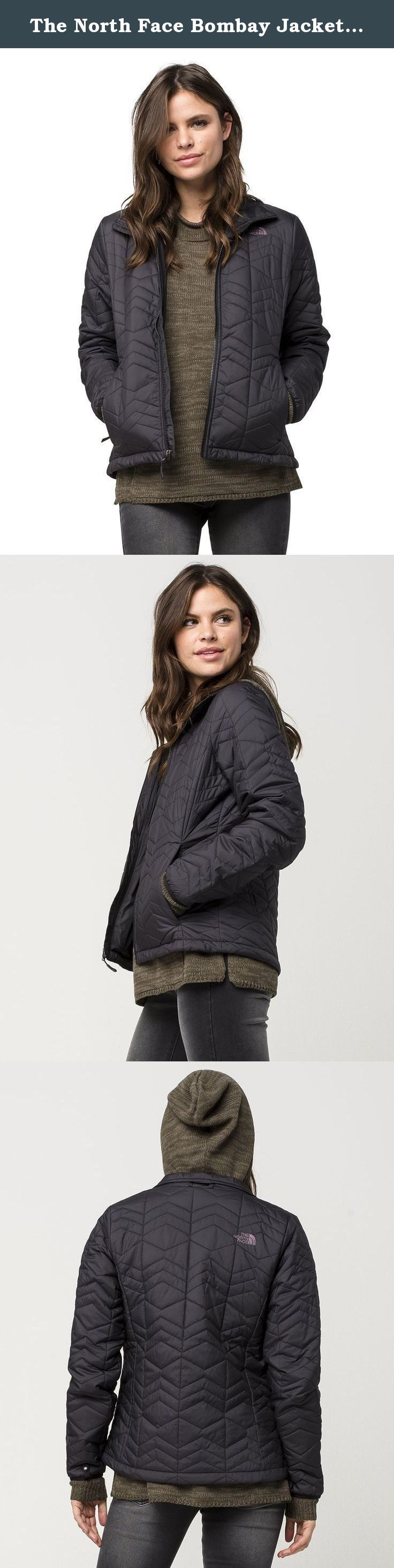 The North Face Bombay Jacket Women's TNF Black X-Large. Choosing the right mid-layer means staying out on the hill longer, and this alpine jacket features (100 g) insulation to keep you warmer in cool-to-cold conditions. When worn as a standalone jacket, the water-resistant exterior sheds light moisture.