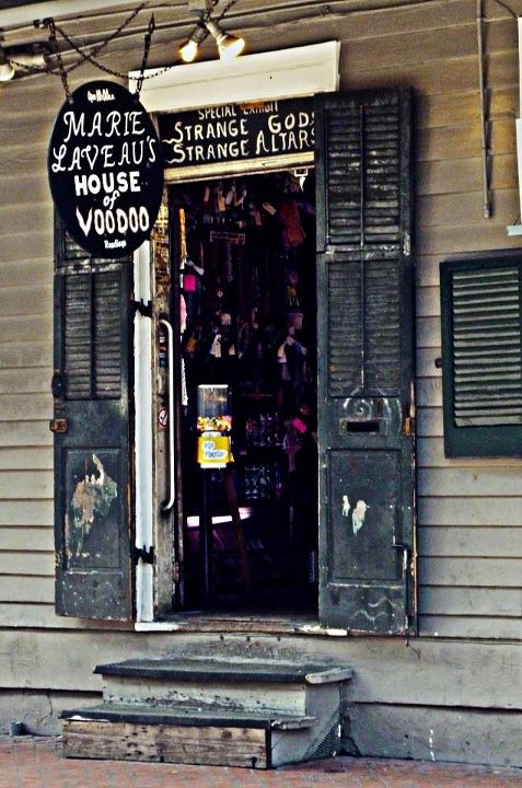 Marie Laveau's House of Voodoo.  I have a protection doll from here.  We'll be going here on our New Orleans holiday