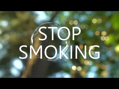 This one is actually pretty good: Stop Smoking Self Hypnosis (Quit Now Session) - YouTube