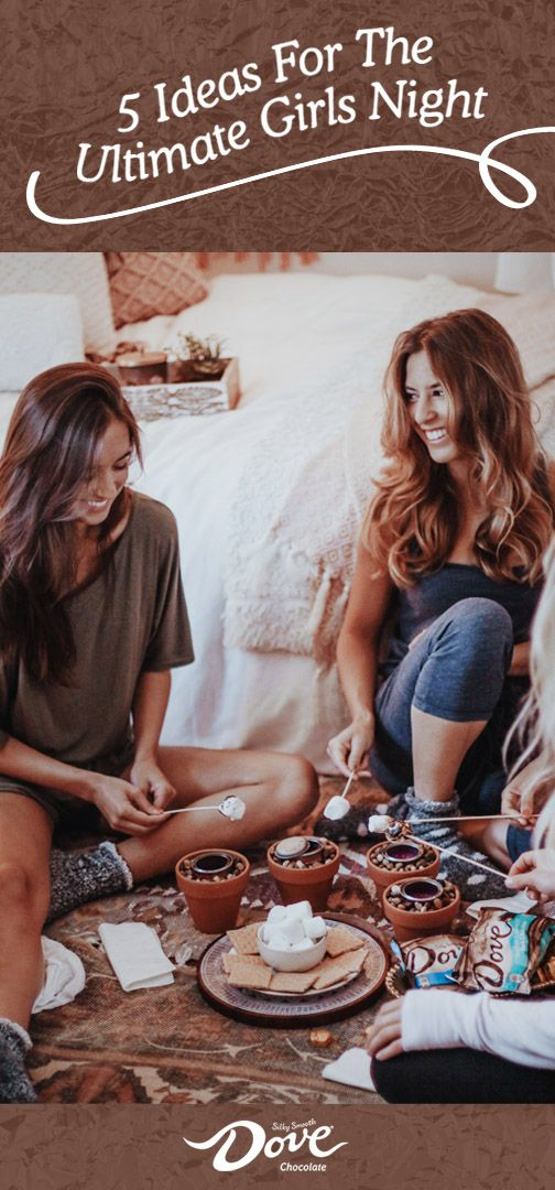 There's something about getting your friends together to catch-up and relax that automatically de-stresses you. Check out this inspiration for a Girl's Night In for sweet and simple ways—like having a pampering spa night or enjoying a few DOVE® Chocolate Promises®—to unwind with your closest gals. Pick up everything you need to treat yourselves by shopping at Walgreens.