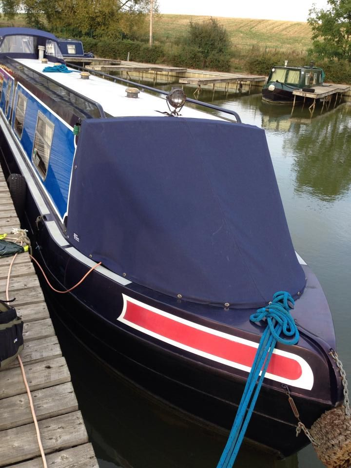 narrowboat cover for bow narrowboat wide beam boat covers prams