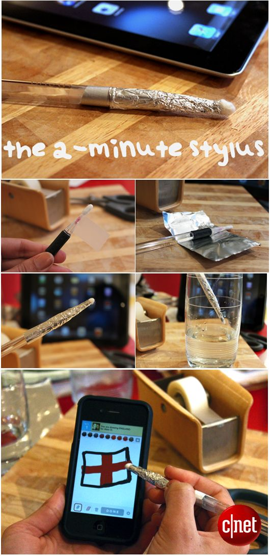 Step-by-step guide to creating a stylus in less than 2 minutes.