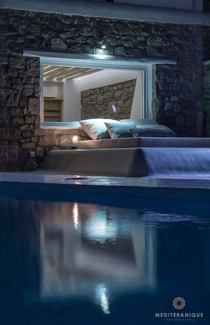 24 best images about bill coo suites and lounge mykonos for Swimmingpool billig