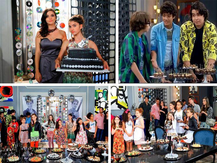 A novela Chiquititas é um grande sucesso da televisão Brasileira e nós estamos muito felizes de poder participar desse sucesso com os nossos bolos, doces e cupcakes.