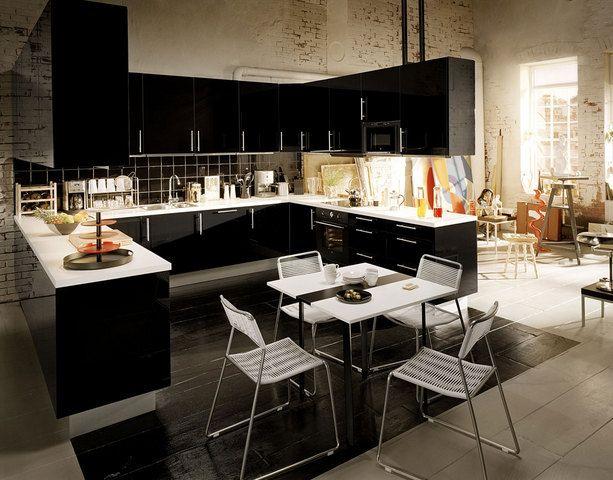Şık ve kullanışlı bir mutfak tasarımı