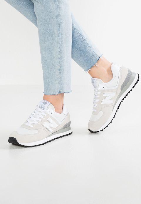 New Balance WL574 - Sneakers laag - white - Zalando.nl ...