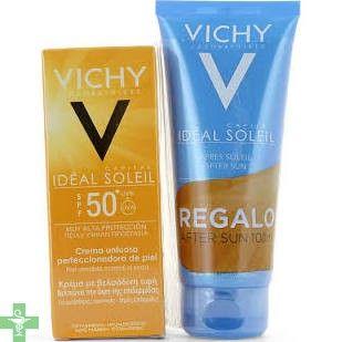 Pack Vichy Capital Soeil BB Cream SPF50 y Aftersun Ideal Soeil de Vichy, para mantener tu piel cuidada y protegida del sol. http://www.parafarmaciafilipinas.com/solares-vichy/solar-corporal-solar-facial-vichy-capital-soleil-bb-cream-spf50-50ml-regalo-after-sun-100ml.html