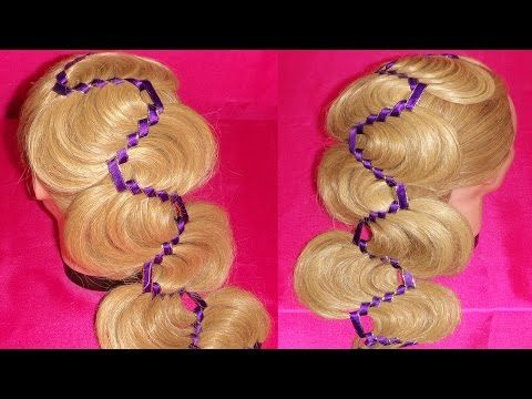 "WAVES BRAID  HAIR TUTORIAL ♥♥♥ | TRENZA  ""S "" ó  en ONDAS ♥♥♥♥  | VIRIYU..."
