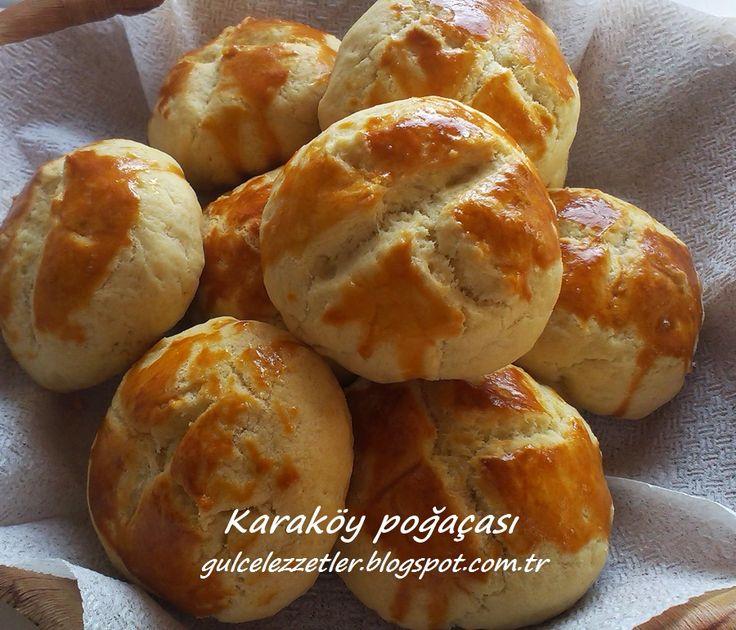 Karaköy Poğaçası MALZEMELER 200 gram oda ısısında yumuşak tereyağ yada margarin (ben tereyağ kullandım) 1 çay bardağı sıvı yağ 1 çay bardağı ılık su 1