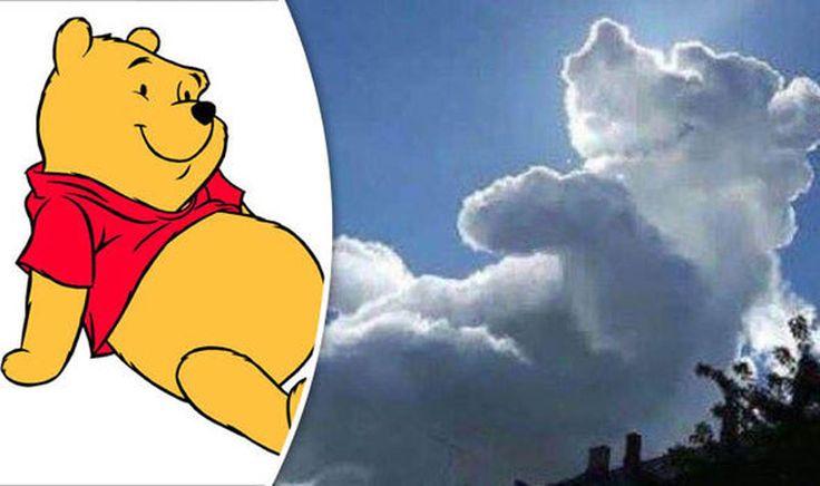 İngiltere'de hasta çocuklar yararına yapılan bir kermeste göğe bakanlar şekli çizgi film karakteri Winnie the Pooh'a benzeyen bir bulut gördüler. Detaylar ajanimo.com'da.. #ajanimo #ajanbrian #hayvan #animal #animasyon #animitaion