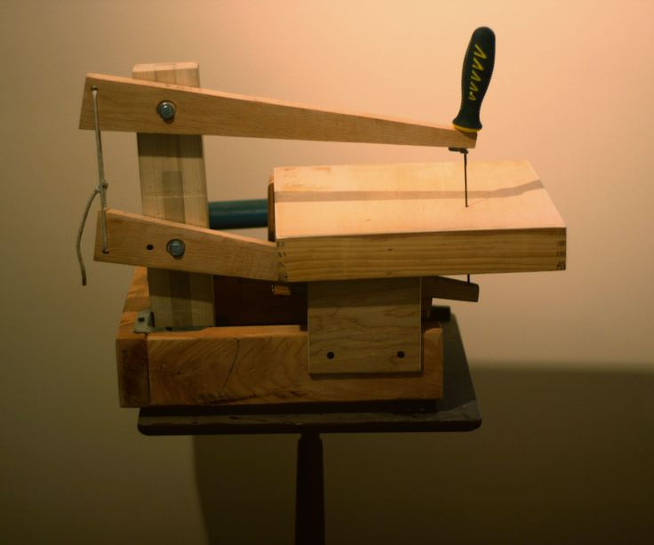 Make a Scroll Saw! (using Only Upcycled/free Materials ...