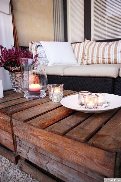 Terrazas con palets   Hacer bricolaje es facilisimo.com
